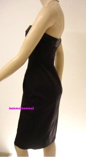 Mango MNG Suit Exclusive Bandeau Bustier Celebrity Kleid black