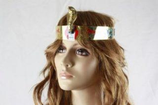 Pharaonen Krone mit Intarsien   Tut Anch Amun Karneval Fasching