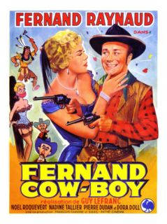 Fernand Cow Boy, 1956 Photographic Print by Marcel Dole