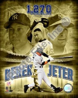 Derek Jeter 2008 Most Career Hits at Yankee Stadium Photo