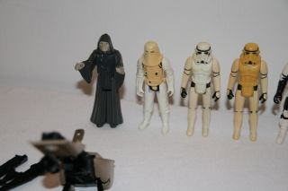 STAR WARS Kenner Vintage Figuren Raumschiffe AT AT, AT ST, Millennium