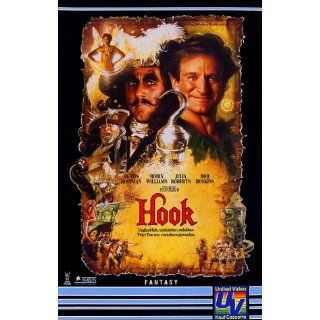 Hook [VHS] Dustin Hoffman, Robin Williams, Julia Roberts, John