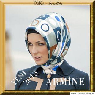 2012/2013 NEU ARMINE Seidentuch Kopftuch Schal Tuch Hijab Esarp 100%