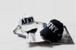 F4564 AFNY Letter Caps Adjustable Hats Sport Caps White