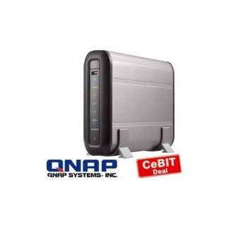 QNAP TurboStation TS 101 9in1 NAS Server mit 500GB: