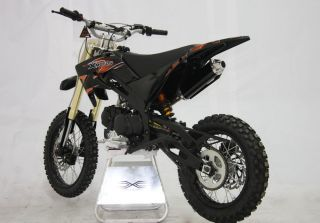 CENKOO XB 33 125cc 17/14 Enduro Cross Dirt Bike Schwarz