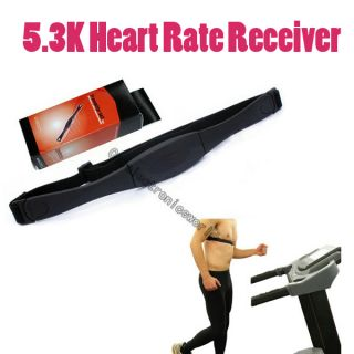 3K Heart Rate Receiver Monitors Chest Strap Belt Transmitter Polar