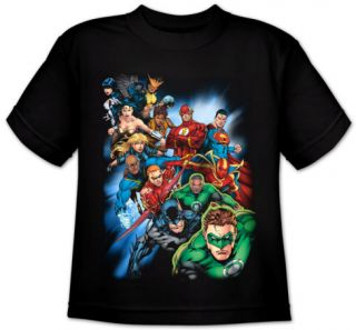 Youth: Justice League America   Heroes Unite T shirts