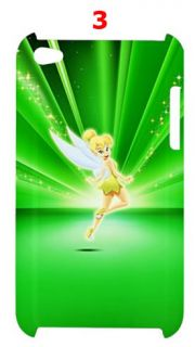 Cartoon Tinkerbell Peter Pan Apple iPod Touch 4G Hardshell Case (Back