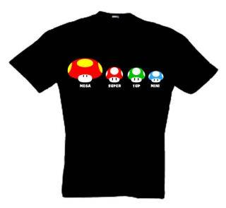 Super Mario Kinder T Shirt Nintendo Größe 104 bis 164