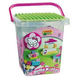 Androni Unico Plus 104 Bausteine Set Hello Kitty Spielzeug