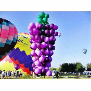 Balloons Hot Air Cluster John Ninomiya 4 Acrylic Cut Outs