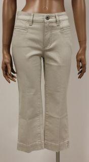 Melanie Pocket Damen Caprihose Jeans Hose Beige Gr.W36L23  166