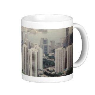Coffee Mug Hong Kong Skyline