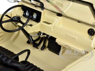1983 CITROEN MEHARI BEIGE 1/18 DIECAST CAR MODEL BY NOREV 181518