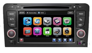 Audi A3 RNS Sportback S3 OEM Autoradio Navigation GPS TMC DVD  USB