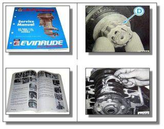 Evinrude Johnson 88   175 Outboards ES Service Manual
