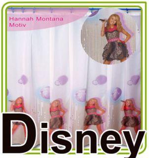 Kinderzimmer Gardine Baby 175x185 Hannah Montana Neu
