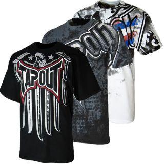 Tapout Herren T Shirt S M L XL XXL 3XL UFC MMA Kampfsport Freefight