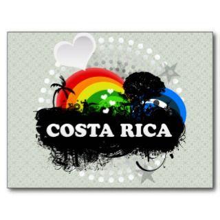 Cute Fruity Costa Rica Post Card