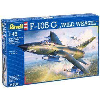 Revell Modellbausatz 04504   F 105 G WILD WEASEL im Maßstab 1:48