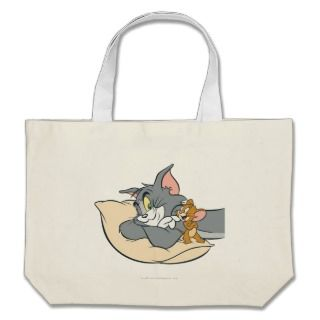 Tom and Jerry On Pillow Bag