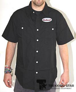Carhartt ES179 S/S Mechanics Shirt black L Kurzarmhemd Herren