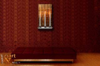 ART Design Wandleuchter Braun Gold Kupfer kein Sofa VK 189,00