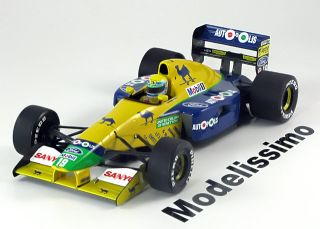 18 Minichamps Benetton Ford B191 1991 Moreno