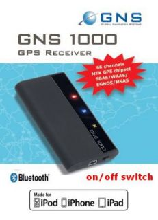 GNS 1000 GPS Bluetooth GPS Maus Made for iPhone iPad iPod