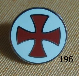 Ritterorden rund Pin Anstecker Button Badge Abzeichen TOP # 196
