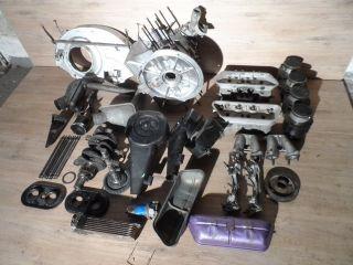 PORSCHE 356 Motor zerlegt aus Lagerauflösung als Teileträger, an