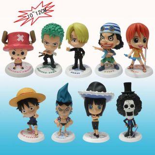 ANIME MANGA One Piece 2 JAHRE MINI Q 9 Figuren Figure Hca,10 12cm 188