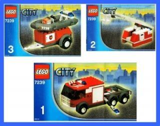 7239 Town City Feuerwehr Feuerwehrlösch zug Auto Truck * 183