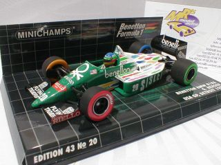 400860020   Benetton BMW B186 USA GP Detroit 1986  G. Berger  143