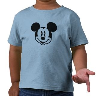 Mickey & Friends Mickey head logo Shirt