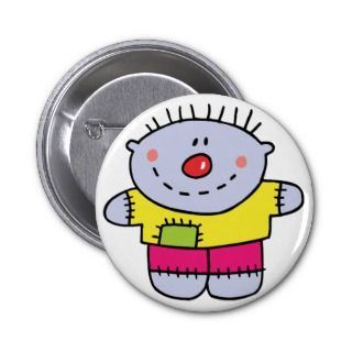 Boy   Cute Hand Stitched Doll Buttons