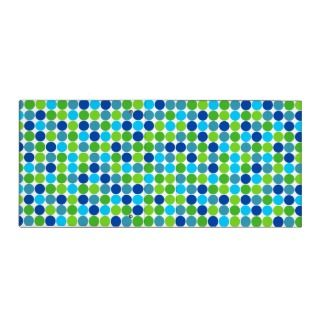 2012 Socialite Designs. A fun and colorful blue and green polka dot