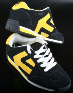 Etnies Schuhe Lo Cut 2 Arrow Navy/Yellow/White Gr. 38