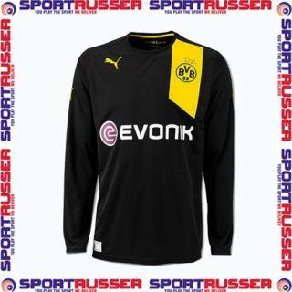 Puma BVB Away Langarm Trikot 2012/2013 black/yellow