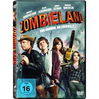 Zombieland Woody Harrelson, Jesse Eisenberg, Emma Stone