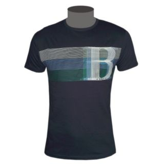 Hugo Boss Green Label Herren T Shirt dunkelblau Tee Gr. M