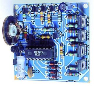 KEMO B211 Schrittmotorsteuerung Stepper motor control