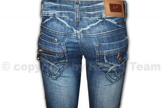 SeXy BT Designer Pocket Zipper Style Hüft Jeans Damen Hose Low Rise