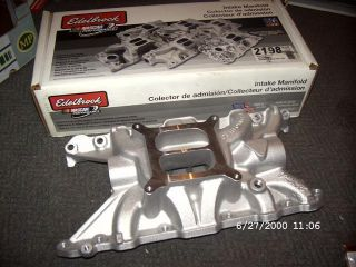 EDELBROCK Performer Intake Manifold Spinne,Rover V8,Buick,Oldsmobil
