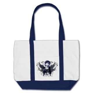 Tabitha Gothic Angel Beach Bag