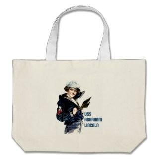 USS Abraham Lincoln ~ U.S. Navy Aircraft Carrier Bags
