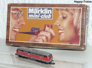 Märklin Mini Club 8875 Diesellok BR 216 025 7 DB / OVP Spur Z