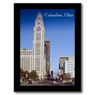 Columbus, Ohio postcard