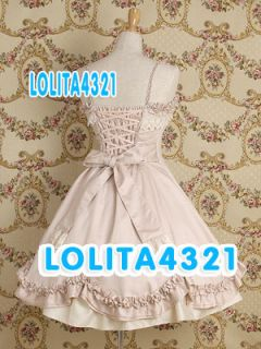 Classical Lolita Made Costume Cosplay~~Stunning Dress